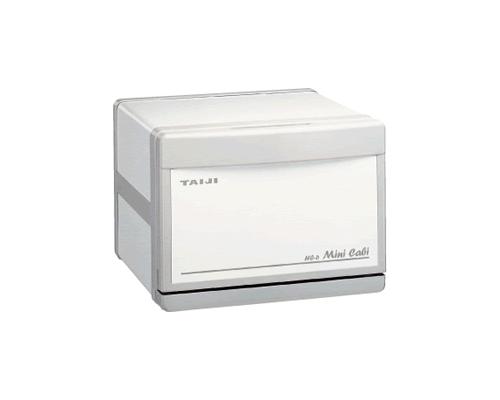 【新品・送料無料・代引不可】TAIJI タイジ (タオルウォーマー・タオル蒸し器)ミニキャビシリーズ スタンダードタイプHC-6 【ホワイト/グレー】