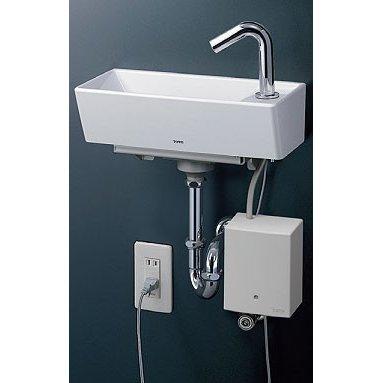 【送料無料】TOTO 壁掛手洗器(角形・自動水栓) 壁給水・壁排水 LSE50AP