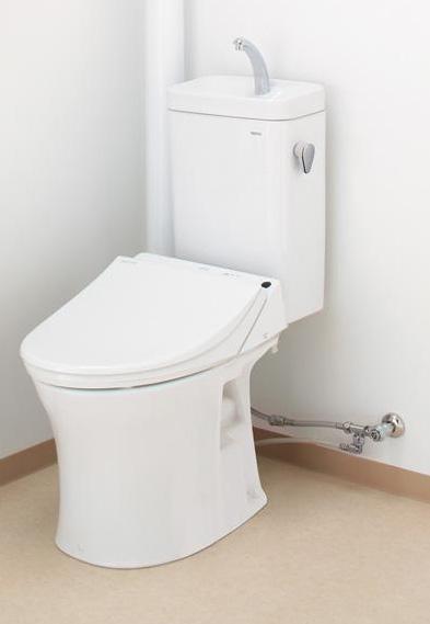 【送料無料】 TOTO ピュアレストMR(壁排水タイプ)マンションリモデル便器+手洗付タンクセットCS215BPR+SH215BAS(SH215BAJS)(便座無し)