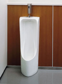 【送料無料】TOTO 床置大形小便器+自動洗浄システムセットUFH507CR+TEA62ADS