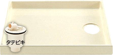 【送料無料】INAX イナックス洗濯機パン(排水トラップ付)PF-8064AC/L11-BL+TP-51(旧TP-31)