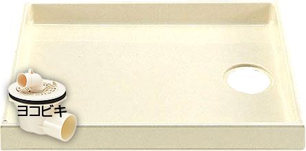 【送料無料】INAX イナックス洗濯機パン(排水トラップ付)PF-8064AC/L11-BL+TP-52(旧TP-32)
