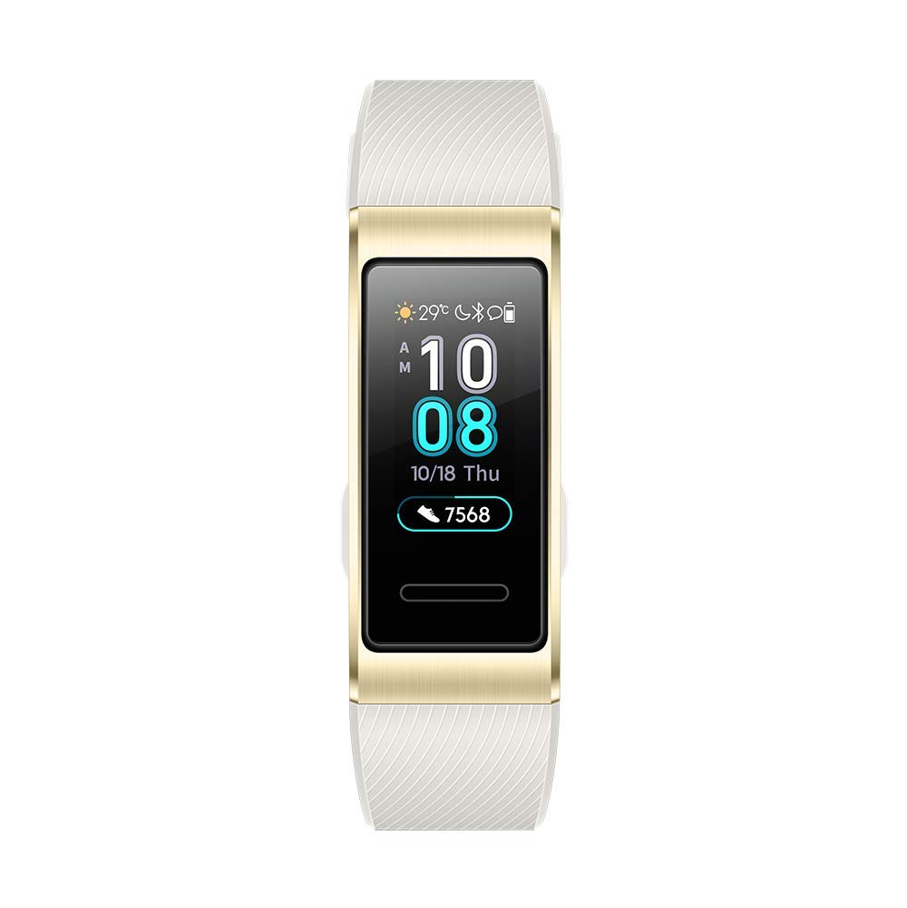 HUAWEI Band 3 Pro 0.95インチスマートウォッチ ゴールドGPS内蔵 5気圧耐水 iOS/Android対応 Band 3 Pro/Gold【送料無料】【ファーウェイ公式】
