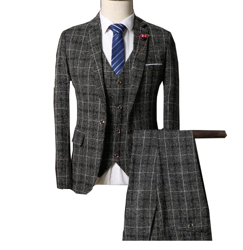 紳士用20代30代 3ピーススーツ メンズ 上下セットセットアップ 二次会 花婿の介添え通勤 結婚式 卒業式大きいサイズ6点セットチェック柄 ジャケット+パンツ+ベスト+蝶ネクタイ+ネクタイ+長袖シャツ