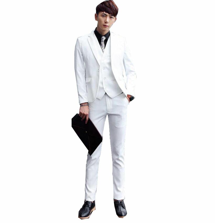 紳士用20代30代40代 3ピーススーツ メンズ 上下セットセットアップ 二次会 花婿の介添え通勤 結婚式 卒業式大きいサイズ3点セットジャケット+パンツ+ベスト 春秋夏 無地M~6XL 品質良い 一つボタンスーツ