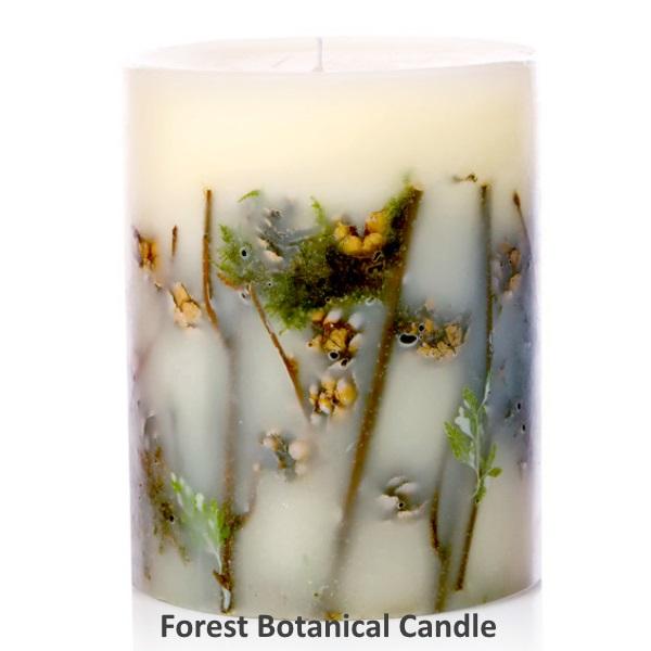 Rosy Rings ロージーリングス Botanical candle キャンドル フォレスト Big Round