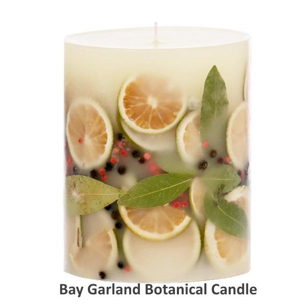 Rosy Rings ロージーリングス Botanical candle キャンドル ベイガーランド Big Round