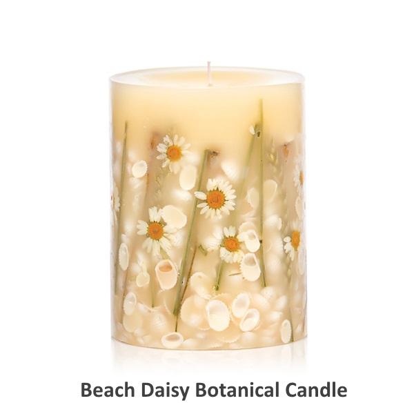 Rosy Rings ロージーリングス Botanical candle キャンドル ビーチデイジー Round