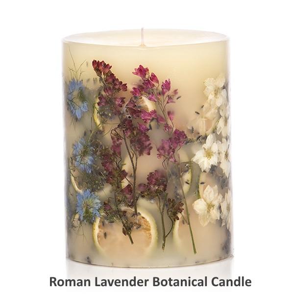 Rosy Rings ロージーリングス Botanical candle キャンドル ロマンラベンダー Big Round