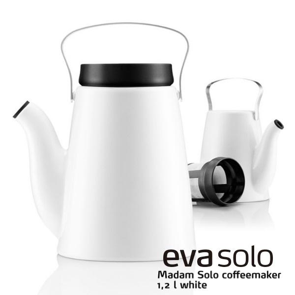 eva solo エヴァソロ マダムソロ ホワイト コーヒーメーカー ドリップポット