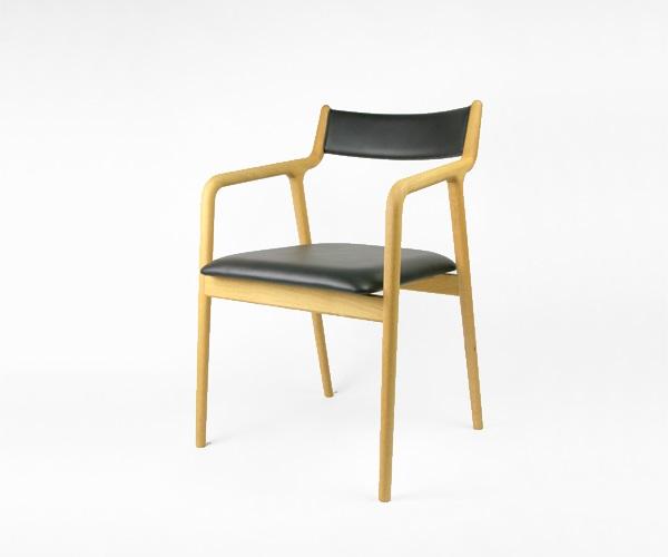 宮崎椅子製作所 pepe ペペアームチェア 背布張りタイプ 村澤一晃デザイン Miyazaki Chair Factory Murasawa Kazuteru