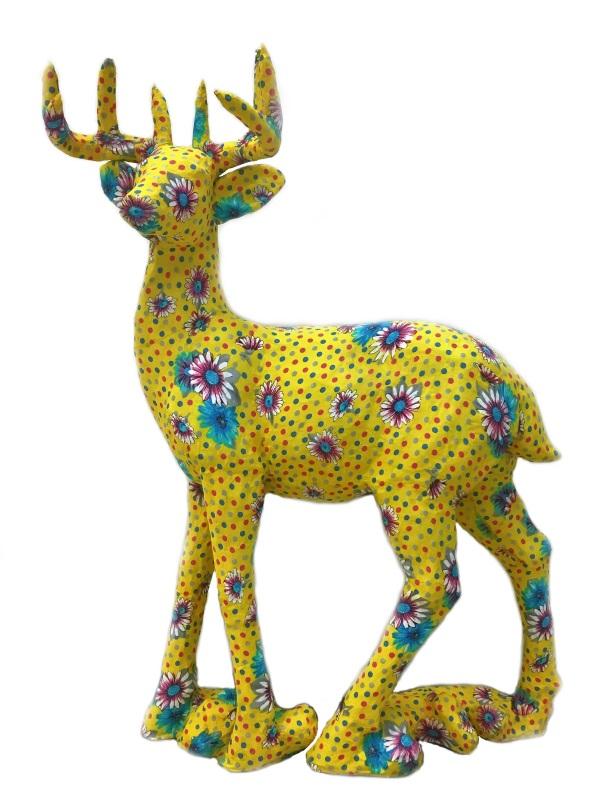Standing Deer 鹿の置物 オブジェ インテリア・寝具・収納 インテリア小物・置物・動物