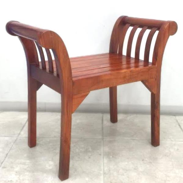 【HUGオリジナル】 チーク Single Bench(シングルベンチ) インテリア・寝具・収納 イス・チェア スツール(背もたれなし)