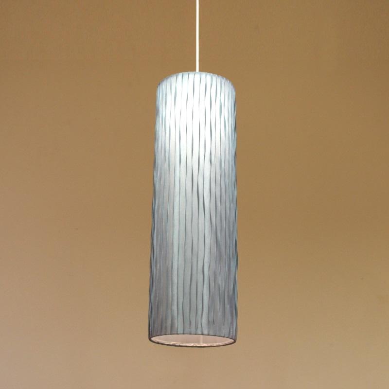 HUGオリジナル Silk Pendant Lamp(シルクペンダントランプ) High type L ライトブルー 洋風ペンダントライト6畳用