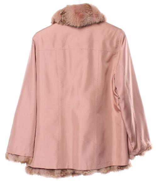 有力学流通SIZE L(L)毛皮的短外套Dinah Flo女士