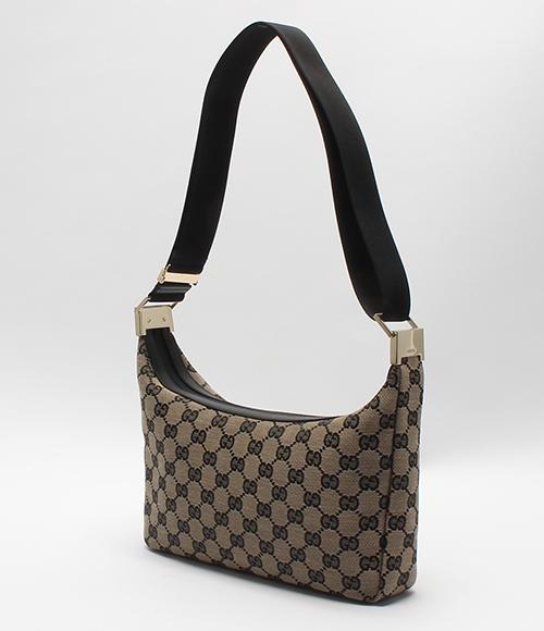 Gucci GG pattern canvas shoulder bag 019 0433 002122 GUCCI Lady's
