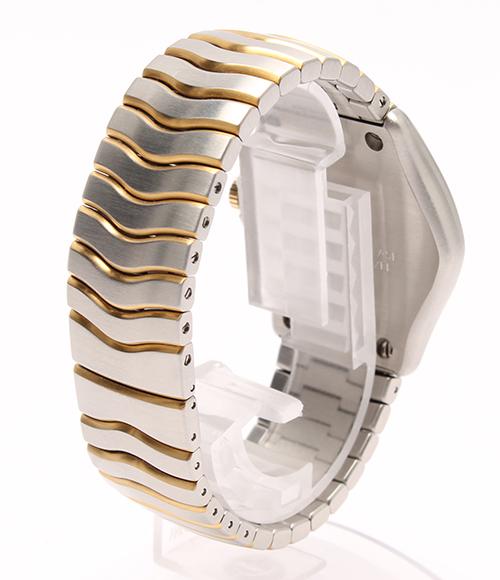 Eber classical music wave E9251F41 K18 X SS combination quartz watch EBEL men