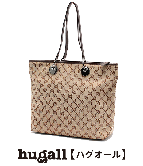 Gucci GG pattern canvas tote bag 140274 beige GUCCI Lady's