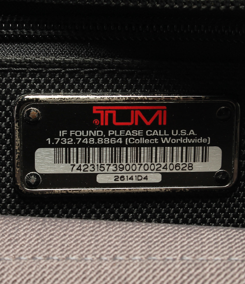 Tumi expandable Organizer Briefcase bag 26141D4 black TUMI mens