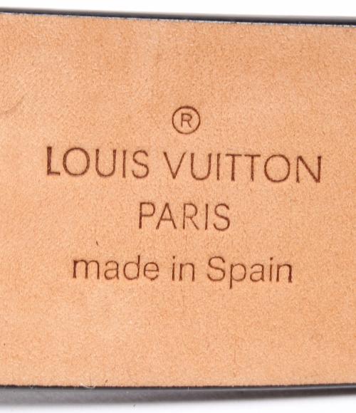 路易 · 威登圣 TUR d.c.i.M6901 皮革皮带 30 路易 · 威登男士