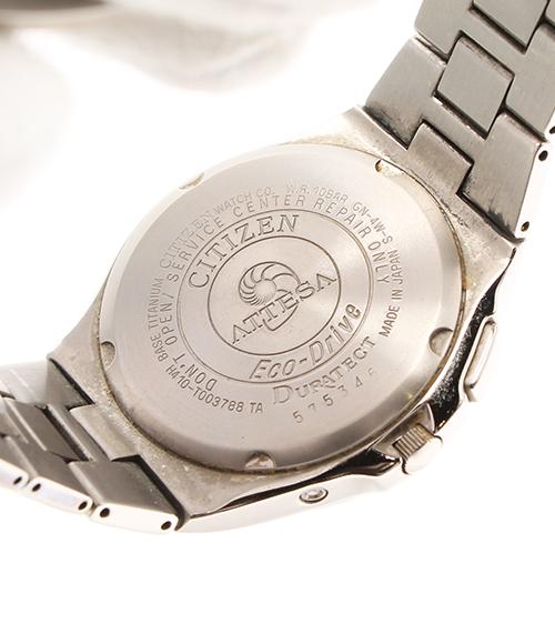 shichizunatessaekodoraibu H410-T003788 TA太阳能电波手表西铁城人