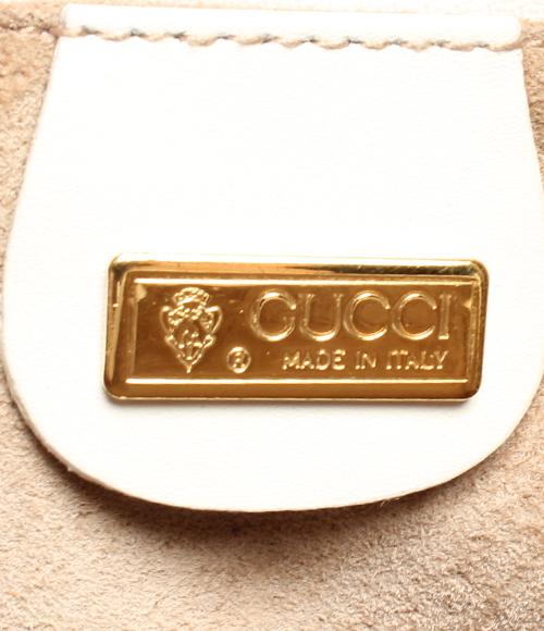 古驰皮革手提包白000 58 0090 GUCCI女士