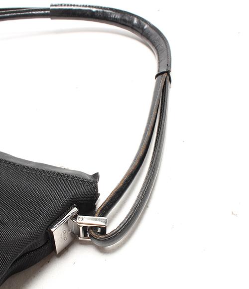Gucci GG canvas shoulder bag 001 3766 002046 GUCCI Lady's [black]