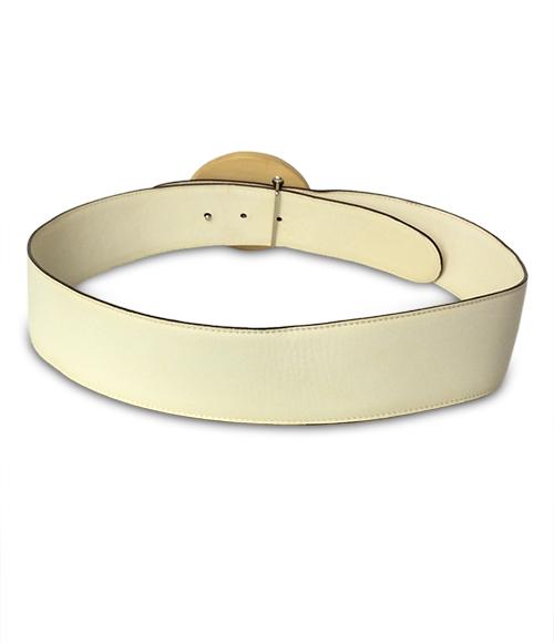 Salvatore Ferragamo Wood buckle belt 23 7144 Salvatore Ferragamo Lady's