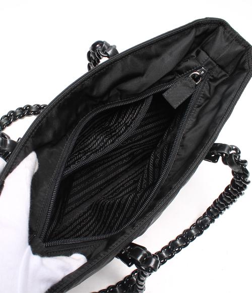 普拉达 (prada) 尼龙塑料链手提包 B7404 普拉达 (prada) 女装 0824年乐天卡拆分