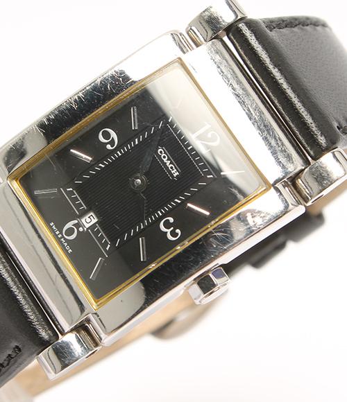 教练W514石英黑色表盘手表COACH人