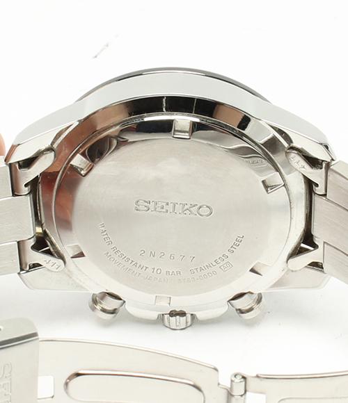精工6T63-00D0计时仪100m石英手表SEIKO人