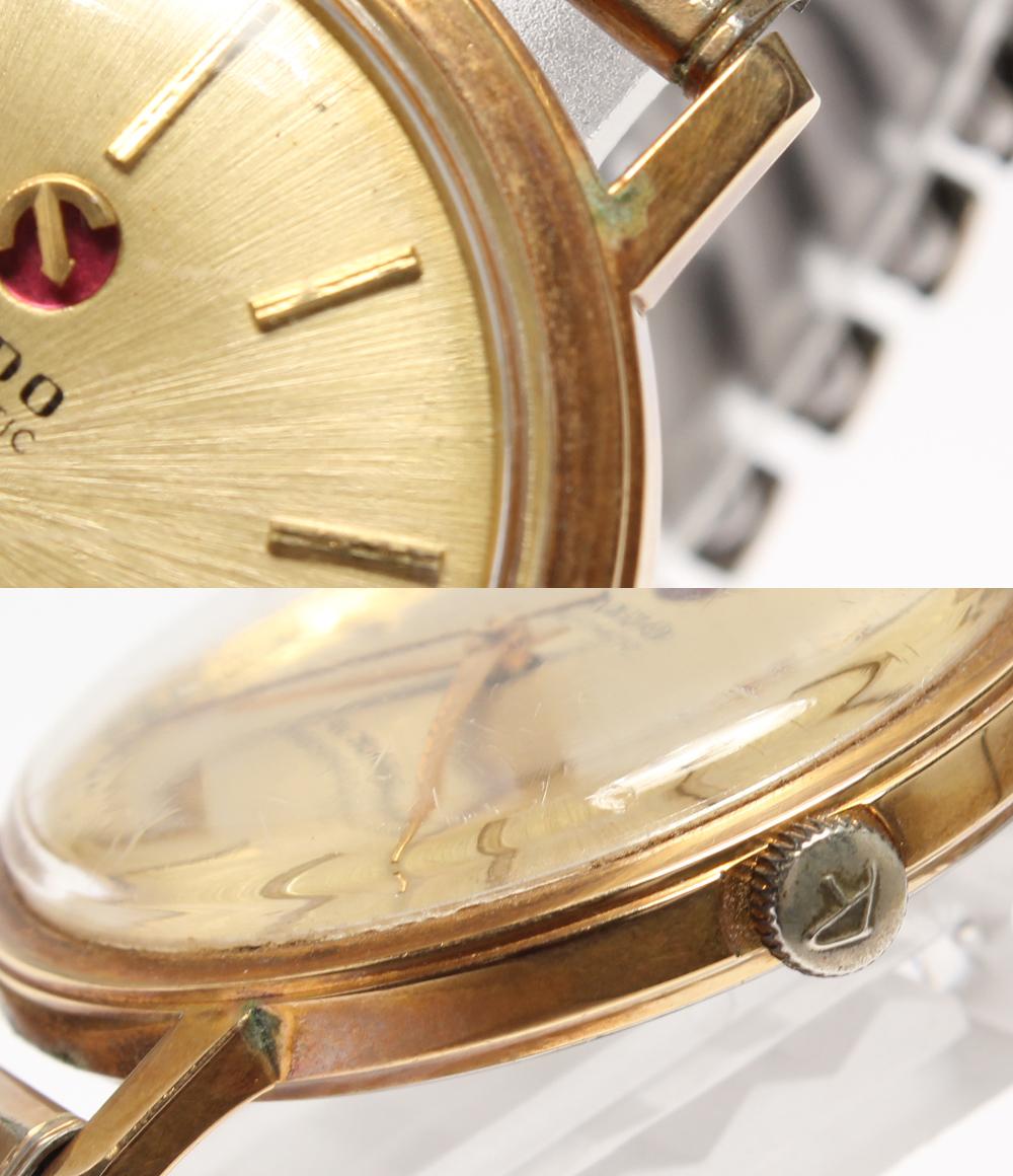 RADO 冲击保护 59948 自动缠绕黄金表盘的手表 RADO 男士