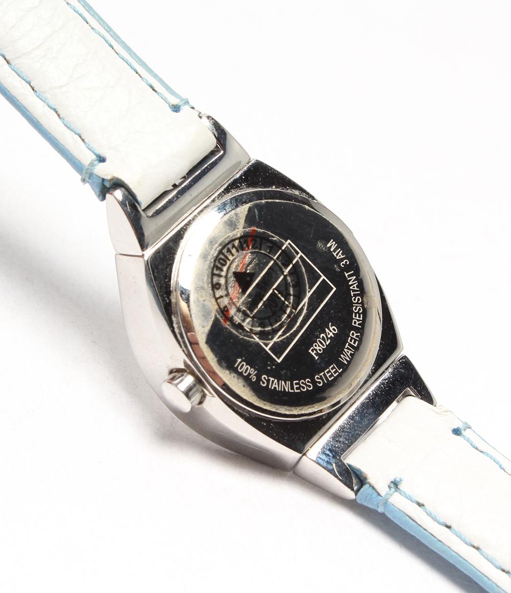 tomihirufiga F80246石英银子表盘手表TOMMY HILFIGER女士