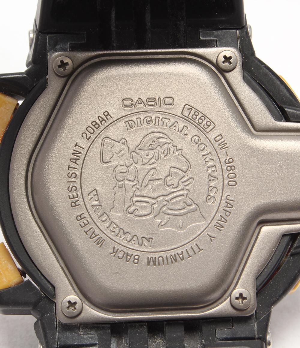 卡西欧瑕疵G-SHOCK韦德人员DW-9800手表CASIO人