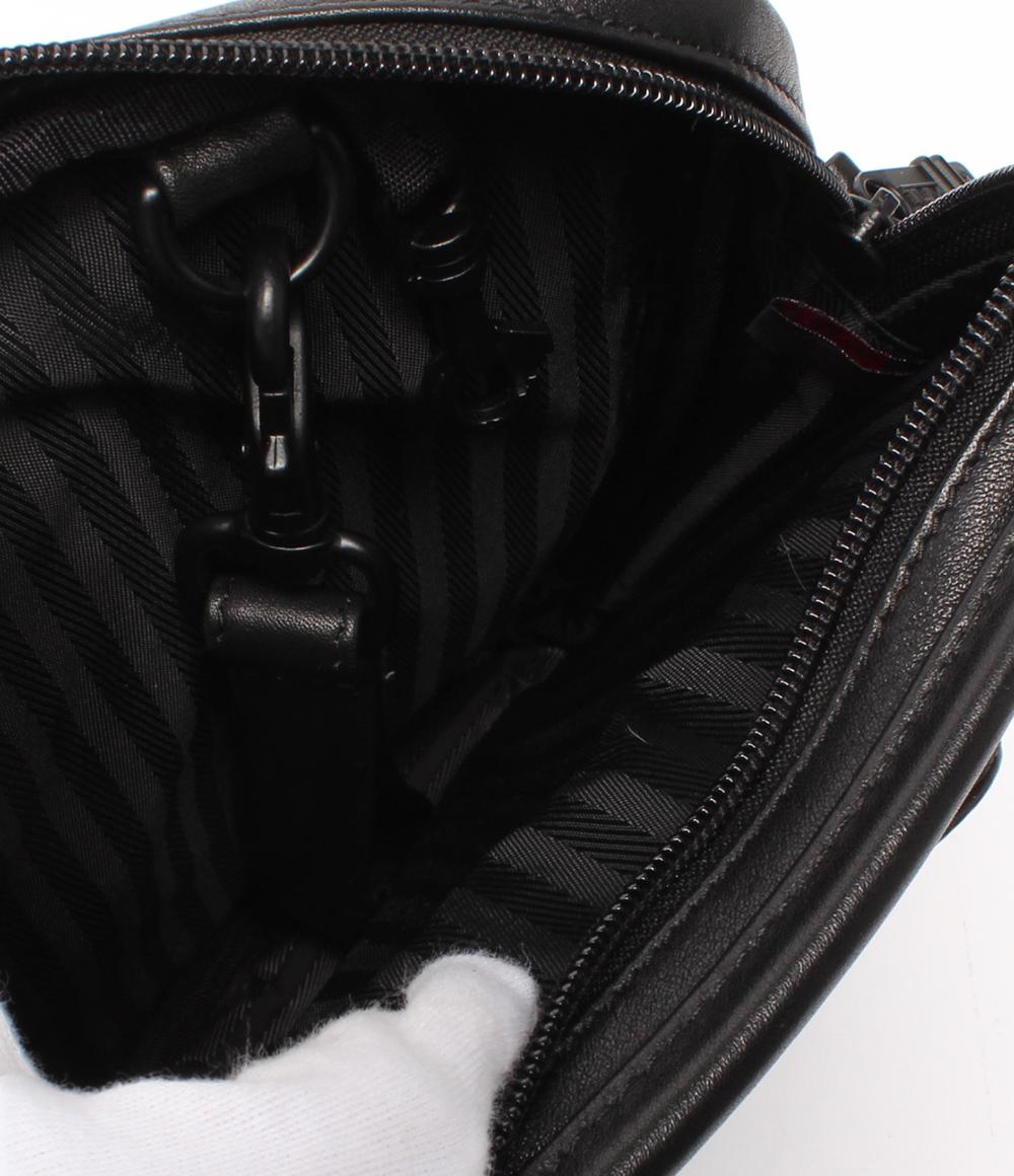 トゥミレザーショルダーバッグ 997D3 black TUMI men
