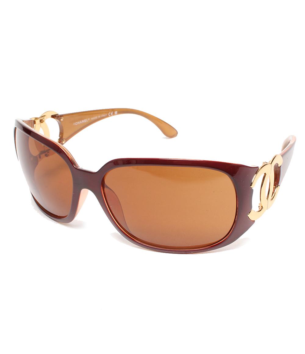 香奈尔6014这里标记层次太阳眼镜CHANEL女士