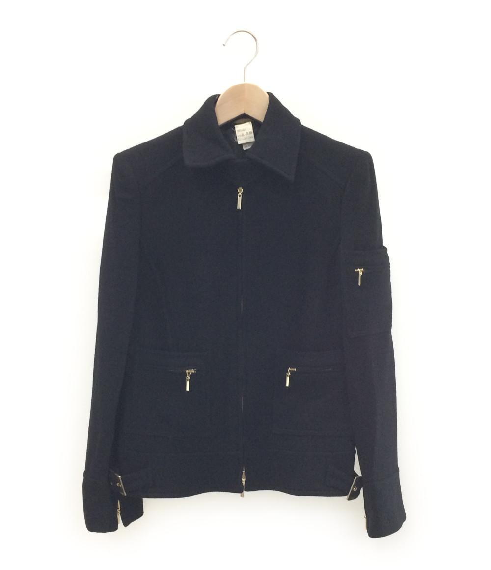 ヴェルサーチ SIZE 38 (S) メデューサボタン ジップアップ ジャケット Versace レディース【中古】
