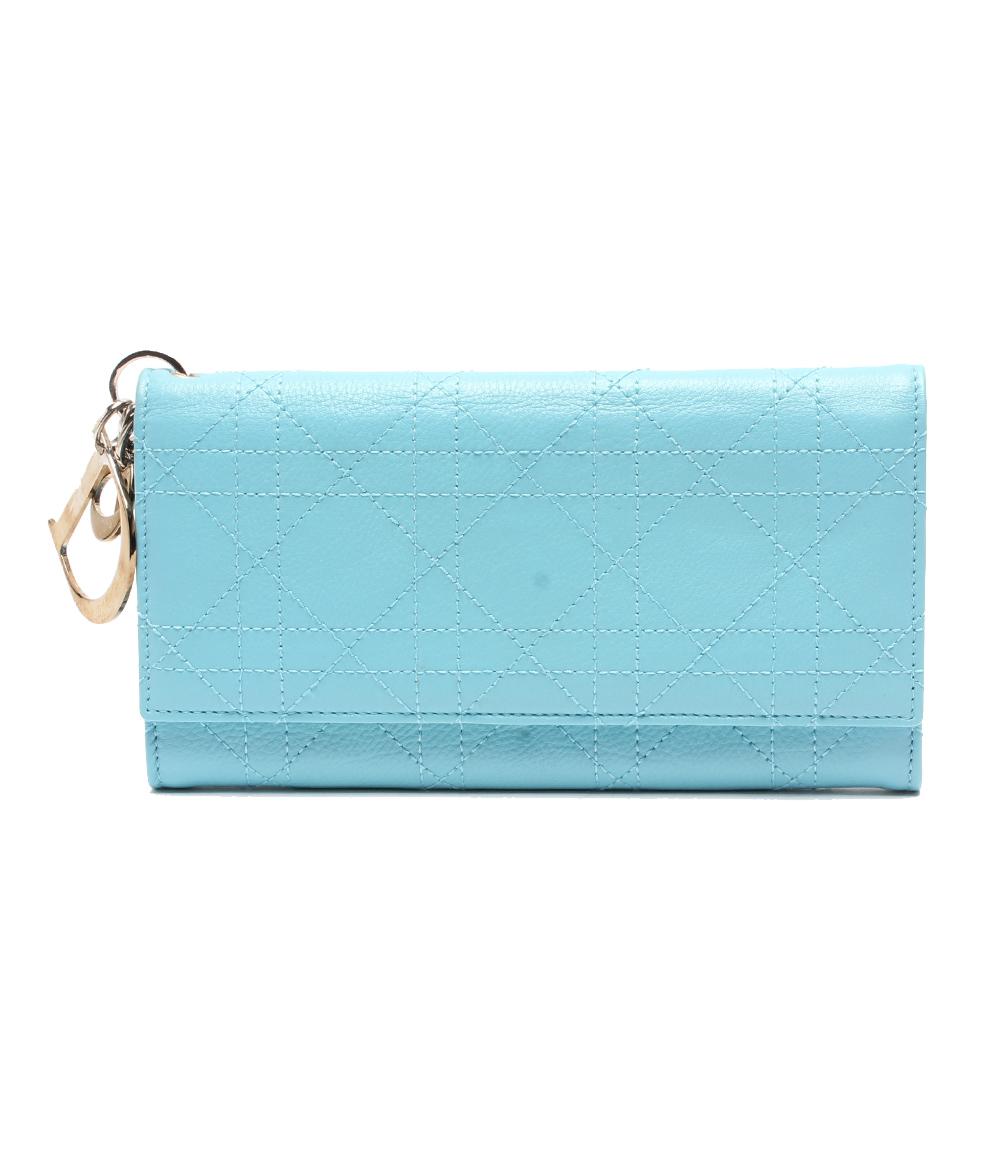 クリスチャンディオール 長財布 Christian Dior レディース【中古】
