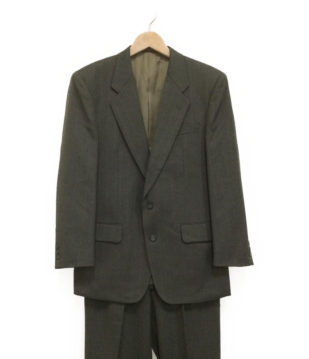 フランコプリンツィバァリー SIZE A5 (M) 美品 ウール 2B スーツ FRANCO PRINZIVALLI メンズ【中古】