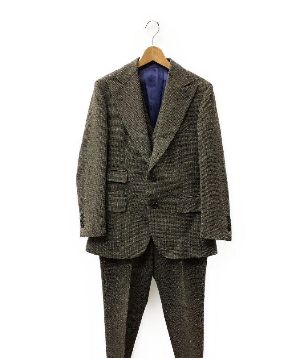 美品 ガブリエレパジーニ SIZE 48 (L) 3ピーススーツ GABRIELE PASINI メンズ 【中古】