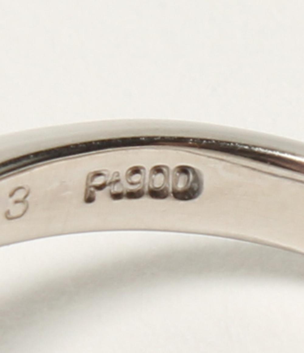 美品 Pt900 天然 ブラックオパール 1 50ct ダイヤ 0 43ct リング Pt900 レディースgbYf7yv6