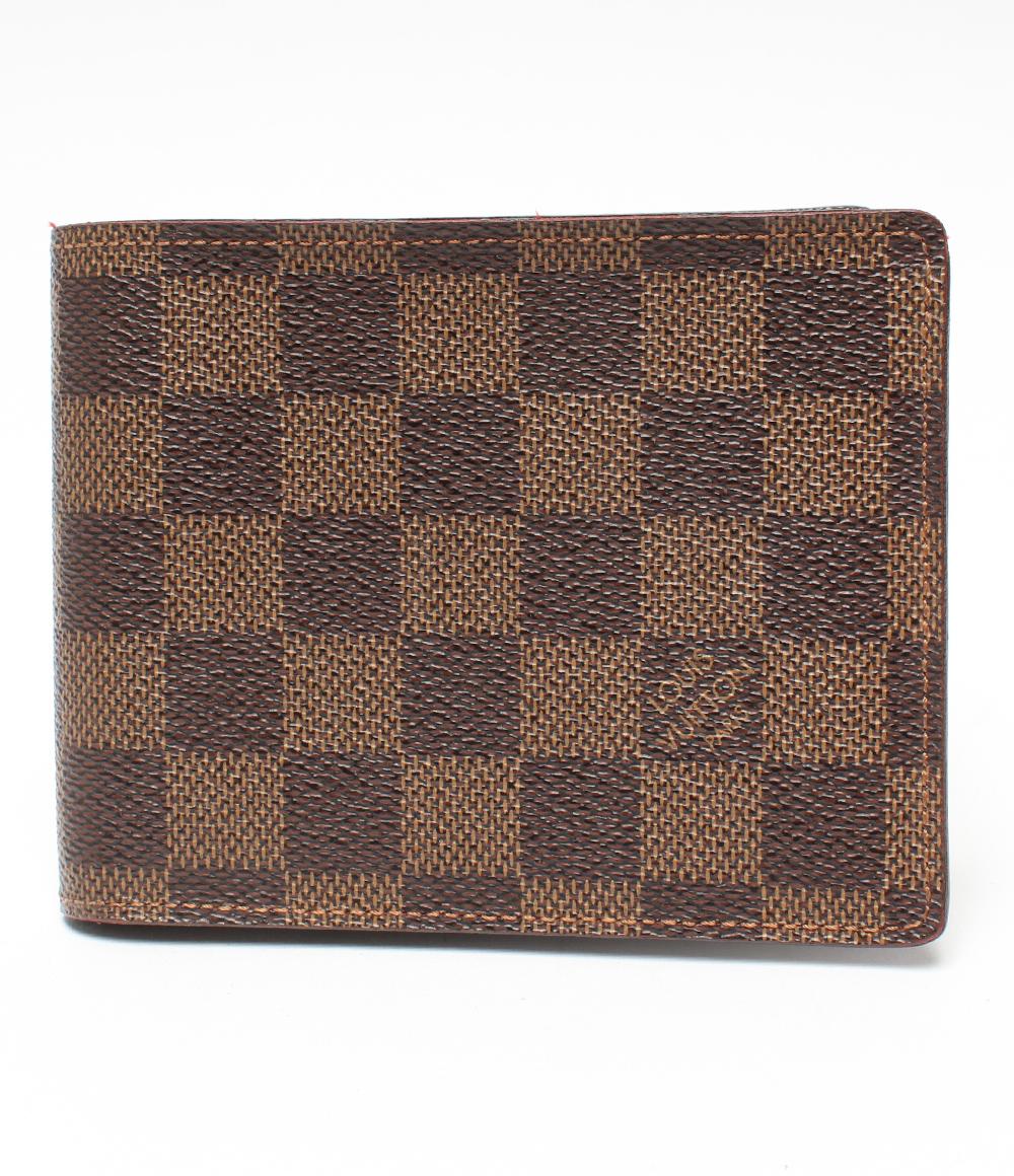美品 ルイヴィトン ポルトフォイユ・フロリン 二つ折り財布 N60011 Louis Vuitton メンズ 【中古】