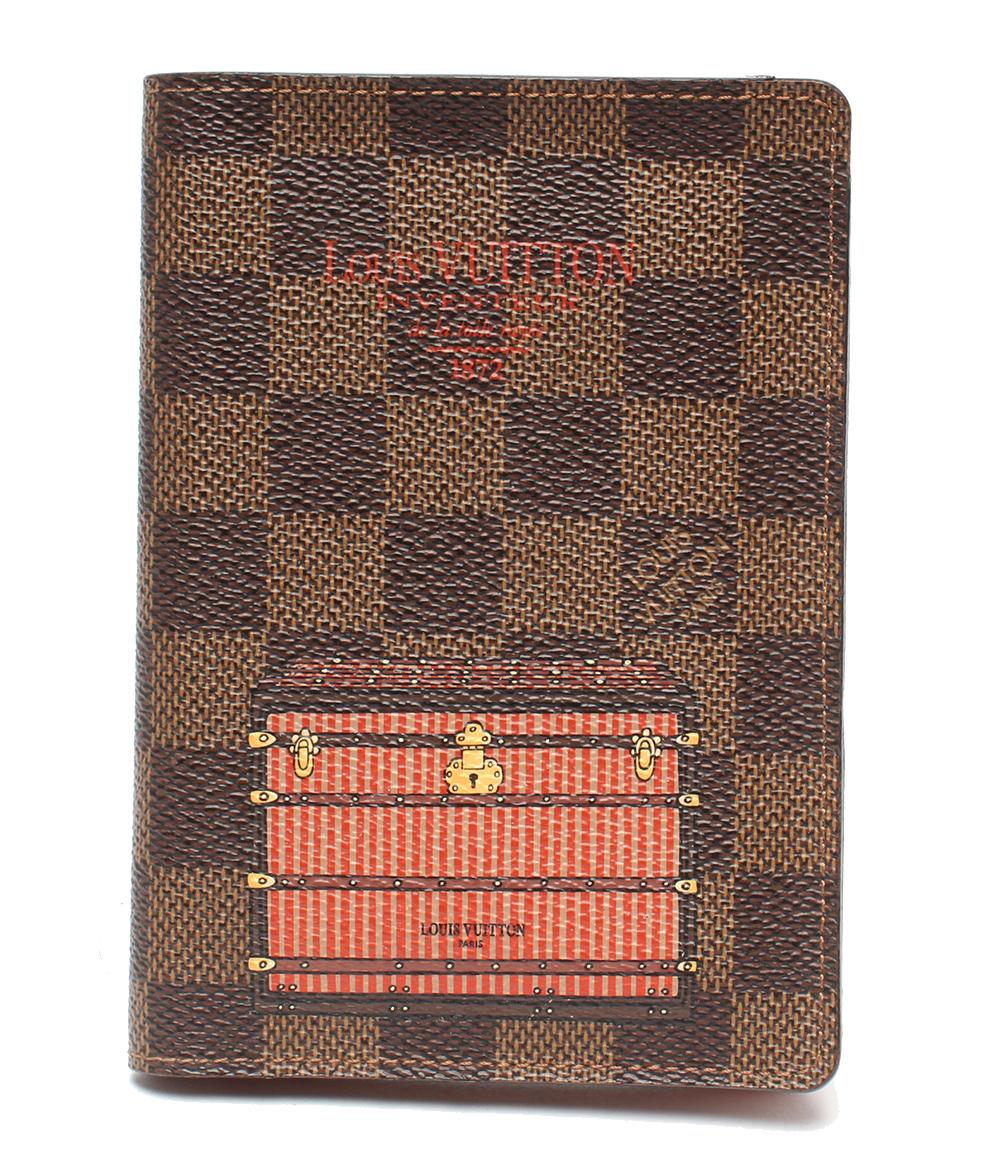 美品 ルイヴィトン クーヴェルテュール パスポール パスポートケース N63189 Louis Vuitton レディース 【中古】