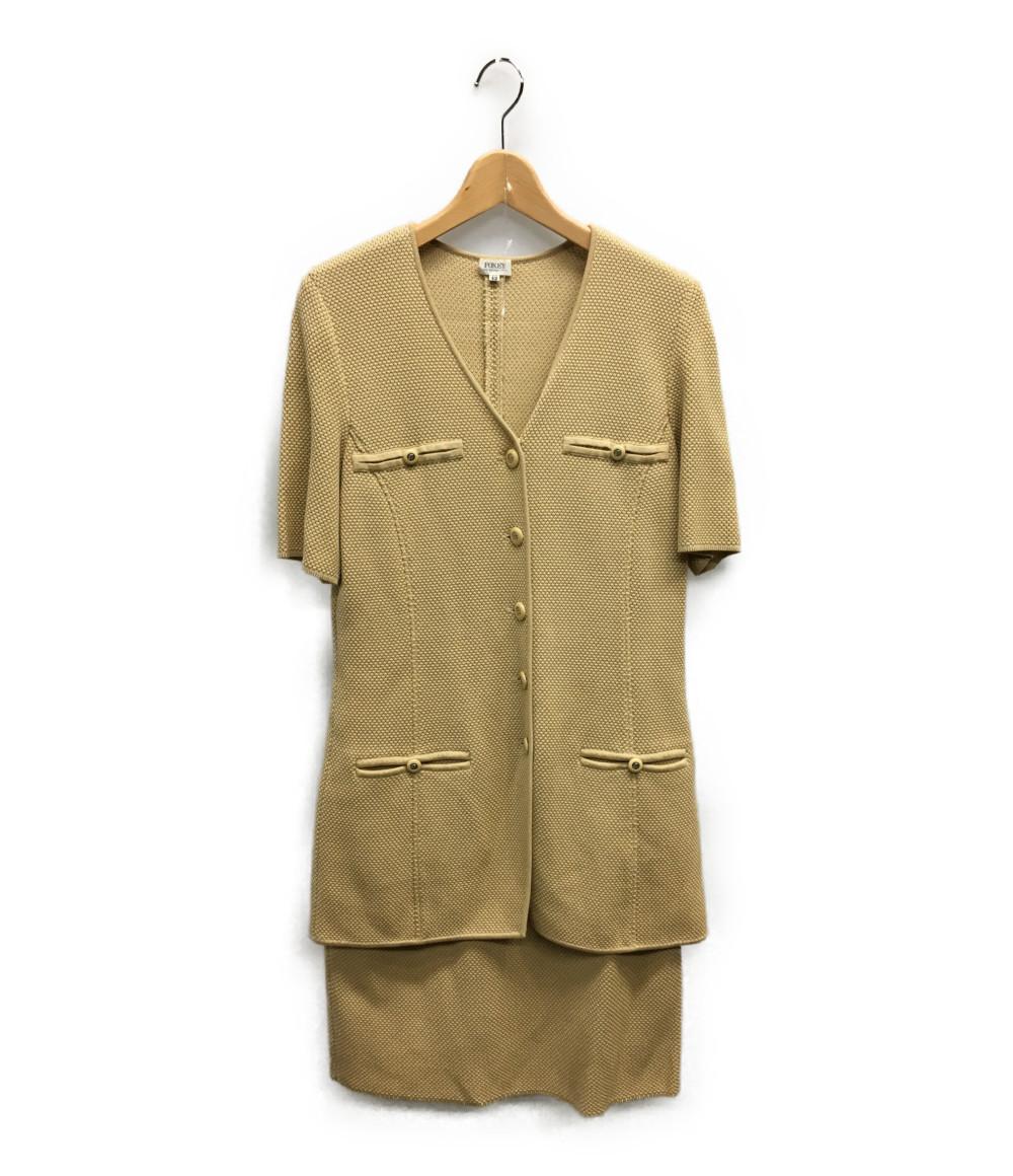美品 フォクシーブティック SIZE 42 (L) スカートスーツ FOXEY BOUTIQUE レディース 【中古】