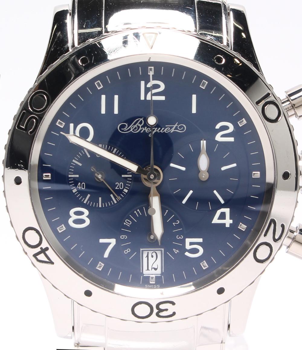 【中古】ブレゲ 腕時計 トランスアトランティック 3820PT 自動巻き Breguet メンズ