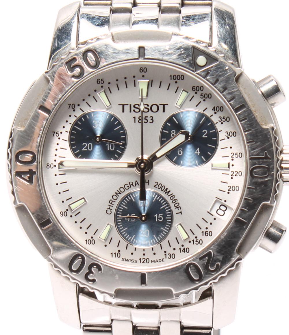 訳あり ティソ 腕時計 クロノグラフ T362/462ss クォーツ TISSOT メンズ 【中古】