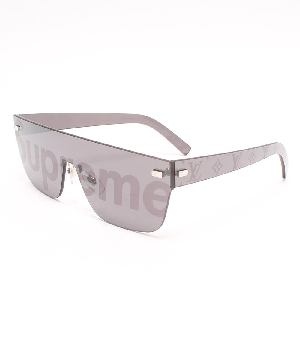 美品 City Mask Sp Sunglasses Z0986U Louis Vuitton×SUPREME メンズ 【中古】