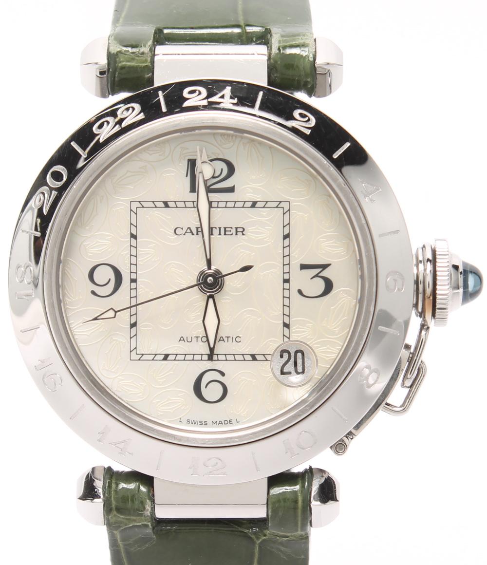 53923d8efe カルティエ腕時計ボーイズパシャcクリスマス限定自動巻きCartierユニセックス【中古】