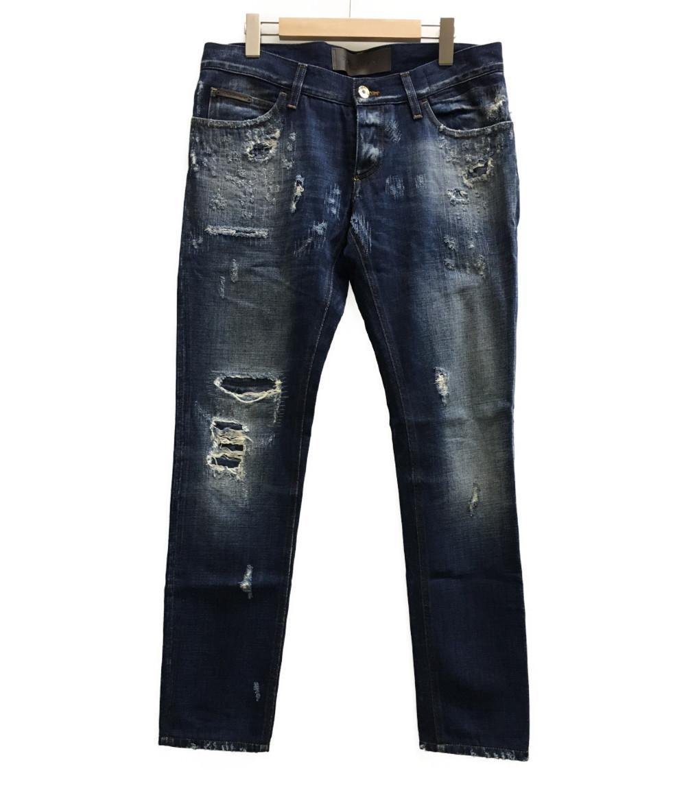 美品 ドルチェアンドガッバーナ SIZE 48 (M) デニムパンツ G6QGGD G8S97 DOLCE&GABBANA メンズ 【中古】