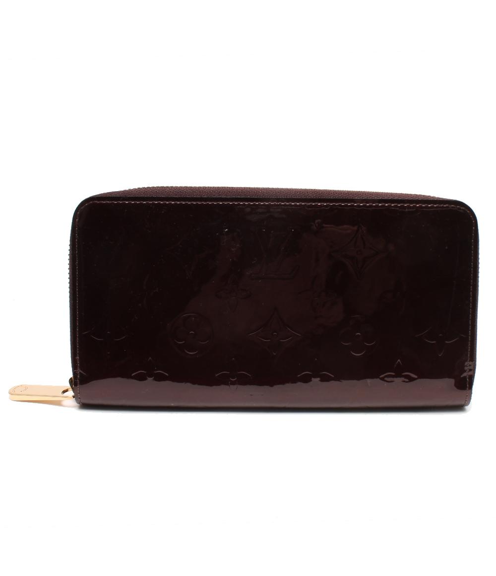 美品 ルイヴィトン 長財布 ジッピーウォレット ヴェルニ CA0110 Louis Vuitton レディース 【中古】